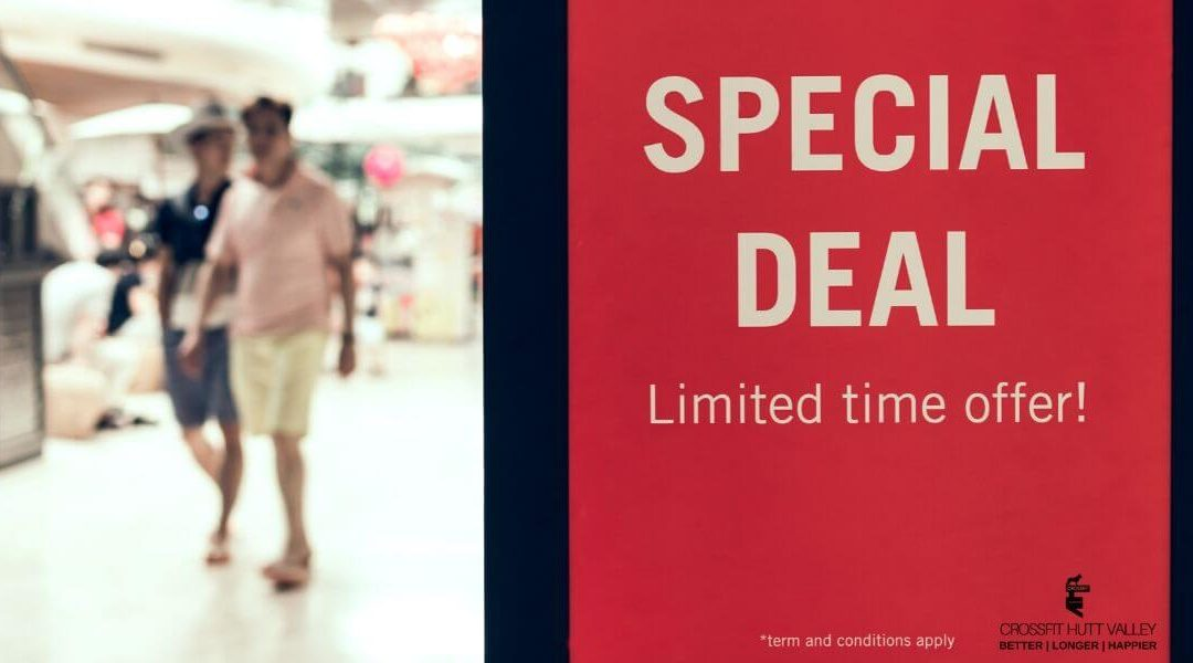 Why you should think twice about that special deal!